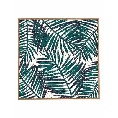 'The Palm Hotel' by Zoe Wodarz Framed Graphic Art Size: 12