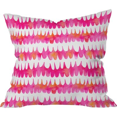 Betsy Olmsted Owl Feather Outdoor Throw Pillow Size: Medium