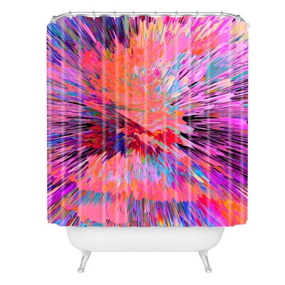 Color Explosion I Shower Curtain