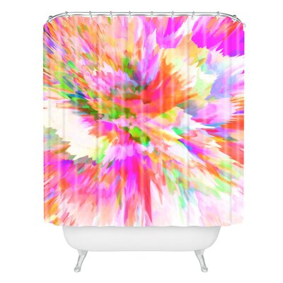 Color Explosion Iv Shower Curtain