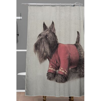 Eric Fan Scotty Shower Curtain