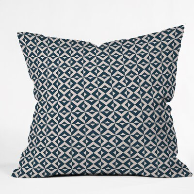 Khristian A Howell Nina Throw Pillow Size: 16 H x 16 W x 4 D