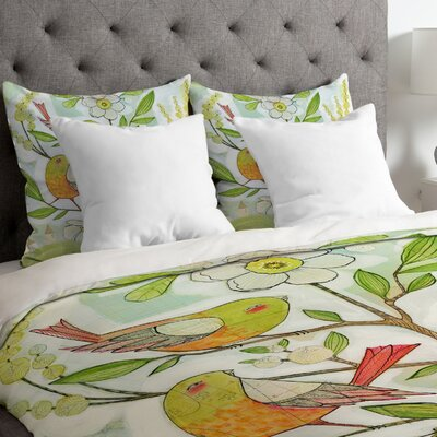 Cori Dantini Lightweight Community Tree Duvet Cover Size: Queen