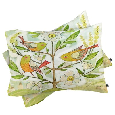 Cori Dantini Community Tree Pillowcase Size: King