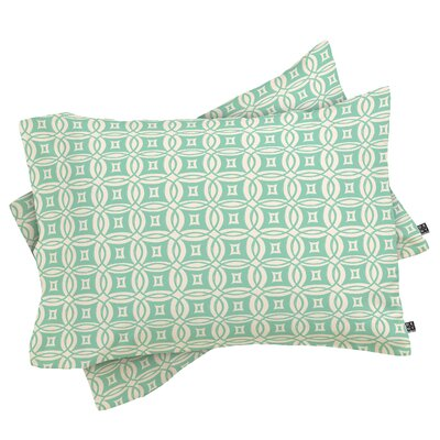 Khristian A Howell Desert Pillowcase Size: King, Color: Green