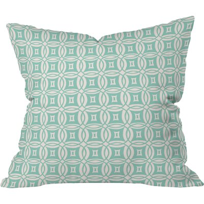 Khristian A Howell Desert Twilight Throw Pillow Size: 16 x 16, Color: Green