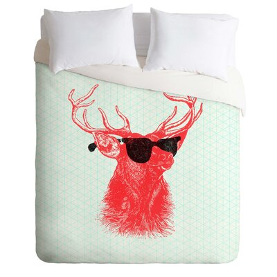 Young Buck Duvet Cover Size: Twin, Fabric: Lightweight