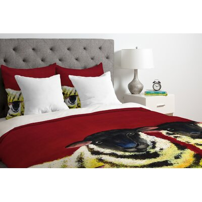 Clara Nilles Down Duvet Cover Size: Queen, Fabric: Lightweight