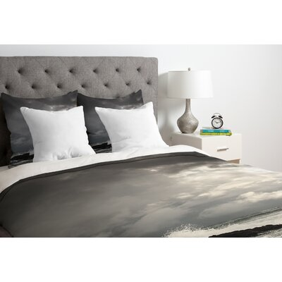 Bird Wanna Whistle Down Duvet Cover Size: Queen, Fabric: Lightweight