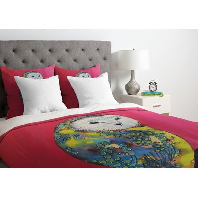 Clara Nilles Down Duvet Cover Size: Twin, Fabric: Lightweight