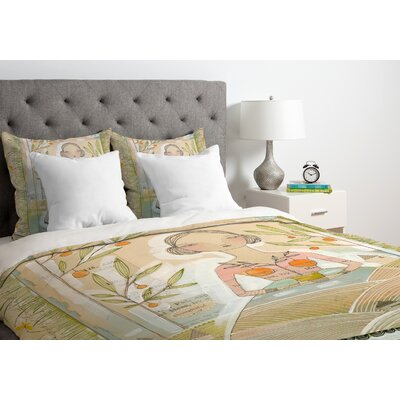 Cori Dantini Sweetness And Light Duvet Cover Size: Twin, Fabric: Lightweight