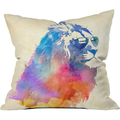 Robert Farkas Throw Pillow Size: Large