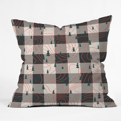 Zoe Wodarz Nature Hike Throw Pillow Size: 20 x 20