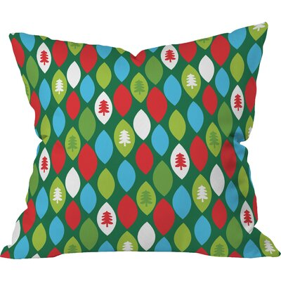 Zoe Wodarz Mini Forest Indoor Throw Pillow Size: Large