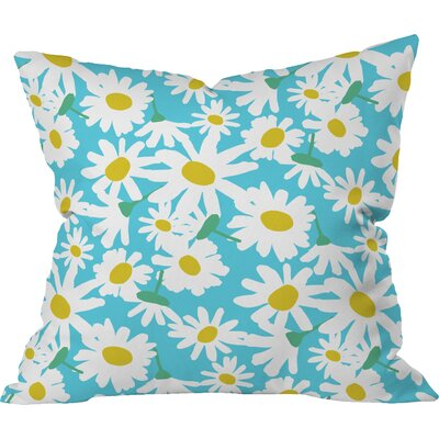 Zoe Wodarz Daisy Do Right Indoor Throw Pillow Size: Large