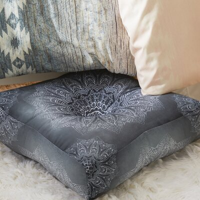 Emelina Square Floor Pillow Size: 23 H x 23 W x 6 D
