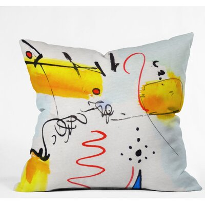Ginette Fine Art Community Gathering Outdoor Throw Pillow Size: 20 H x 20 W x 6 D