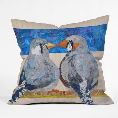 Finch 2 Finch Outdoor Throw Pillow
