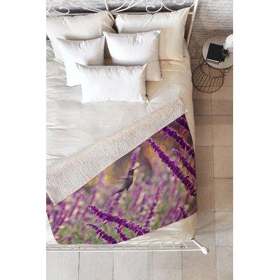 Hummingbird 2 Blanket Size: 60 L x 50 W