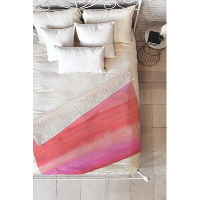 Ombre Blanket Size: 80 L x 60 W