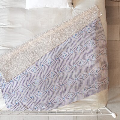 French Linen Loop Blanket Size: 80 L x 60 W
