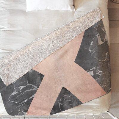 Emanuela Carratoni Marble Blanket Size: 80 L x 60 W