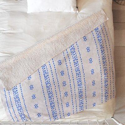 Holli Zollinger French Linen Boho Stripe Blanket Size: 60 L x 50 W