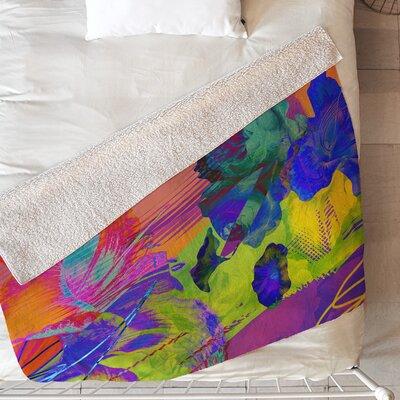 Biljana Kroll Neon Night Blanket Size: 60 L x 50 W