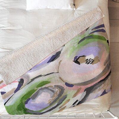 Flower Shop Blanket Size: 60 L x 50 W