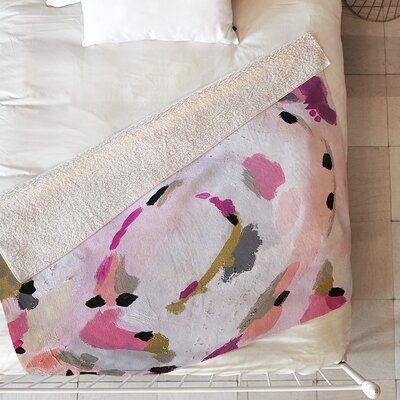 Lipstick Abstract Blanket Size: 80 L x 60 W