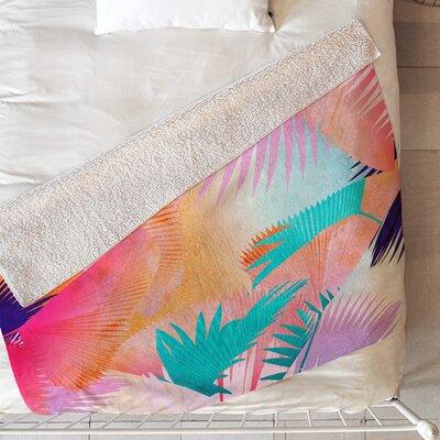 Iveta Abolina Cuban Sunset Blanket Size: 60 L x 50 W
