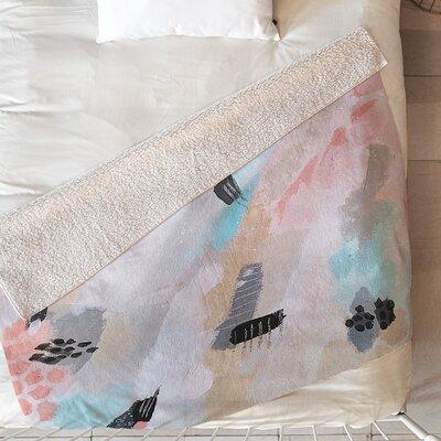 Oatmeal Rain Blanket Size: 80 L x 60 W