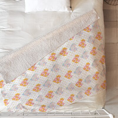 Love Patch Blanket Size: 60 L x 50 W