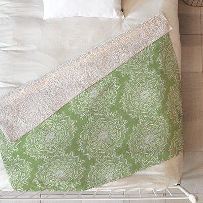 Lisa Argyropoulos Lotus Blanket Size: 60 L x 50 W