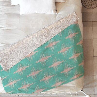 Cabana Blush Blanket Size: 60 L x 50 W