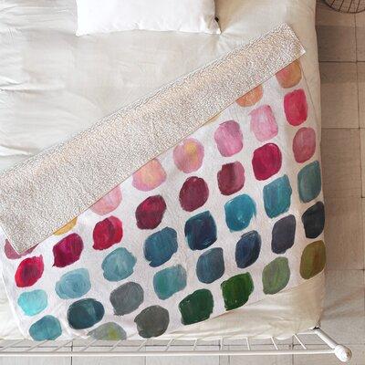 Color Palette Blanket Size: 80 L x 60 W