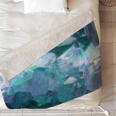 Artic Gem Blanket Size: 60 L x 50 W