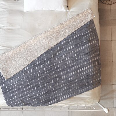 Bogo Denim Rain Light Blanket Size: 80 L x 60 W