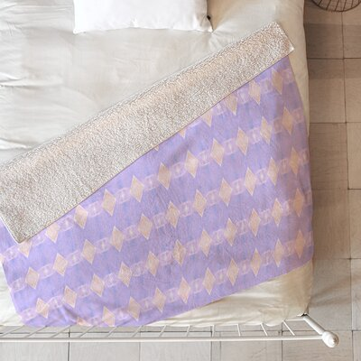 Art Deco Mini Triangle Blanket Size: 60