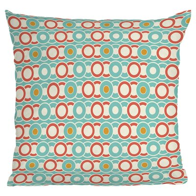 Heather Dutton Ring a Ding Outdoor Throw Pillow Size: 18 H x 18 W x 4 D