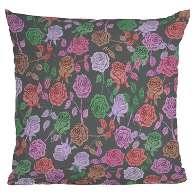 Bianca Roses Vintage Outdoor Throw Pillow