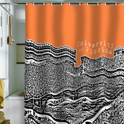 DENY Designs Bird Ave University Of Florida Shower Curtain