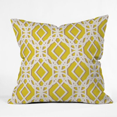 Aimee St Hill Diamonds Throw Pillow Size: Large