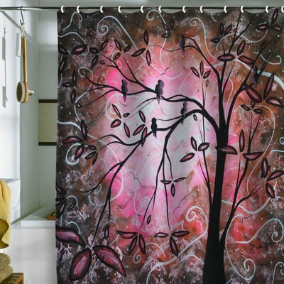 Low Price DENY Designs Madart Inc. Cherry Blossoms Shower Curtain