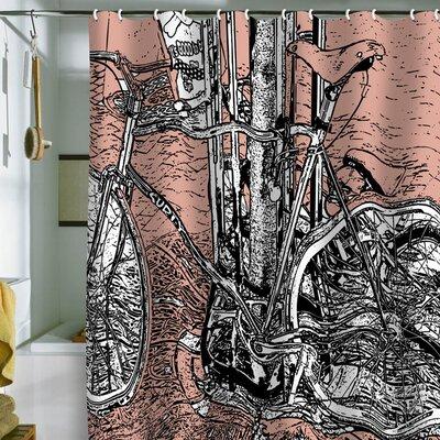 Buy Low Price DENY Designs Romi Vega Bike Shower Curtain