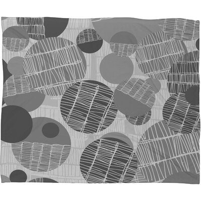 Rachael Taylor Textured Geo Throw Blanket Size: Small, Color: Gray Textured Geo 1
