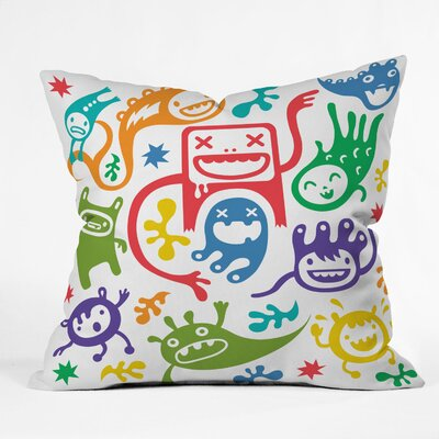 Andi Bird Throw Pillow Size: Large