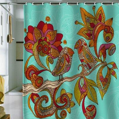 DENY Designs Valentina Ramos Hello Birds Shower Curtain