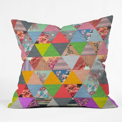 Bianca Green Lost in Pyramid Throw Pillow Size: 18 x 18