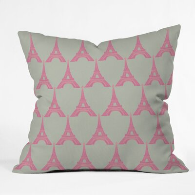 Bianca Green Oui Throw Pillow Size: 16 x 16